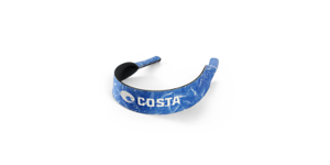 COSTA DEL MAR Neoprene MegapreneTM Sunglasses Retainer Keeper Vintage Fish Blue