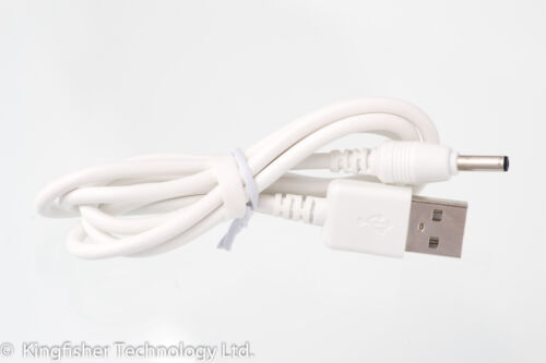 90cm USB White Cable for Summer Infant Wideview 29006 29006A Baby Monitor
