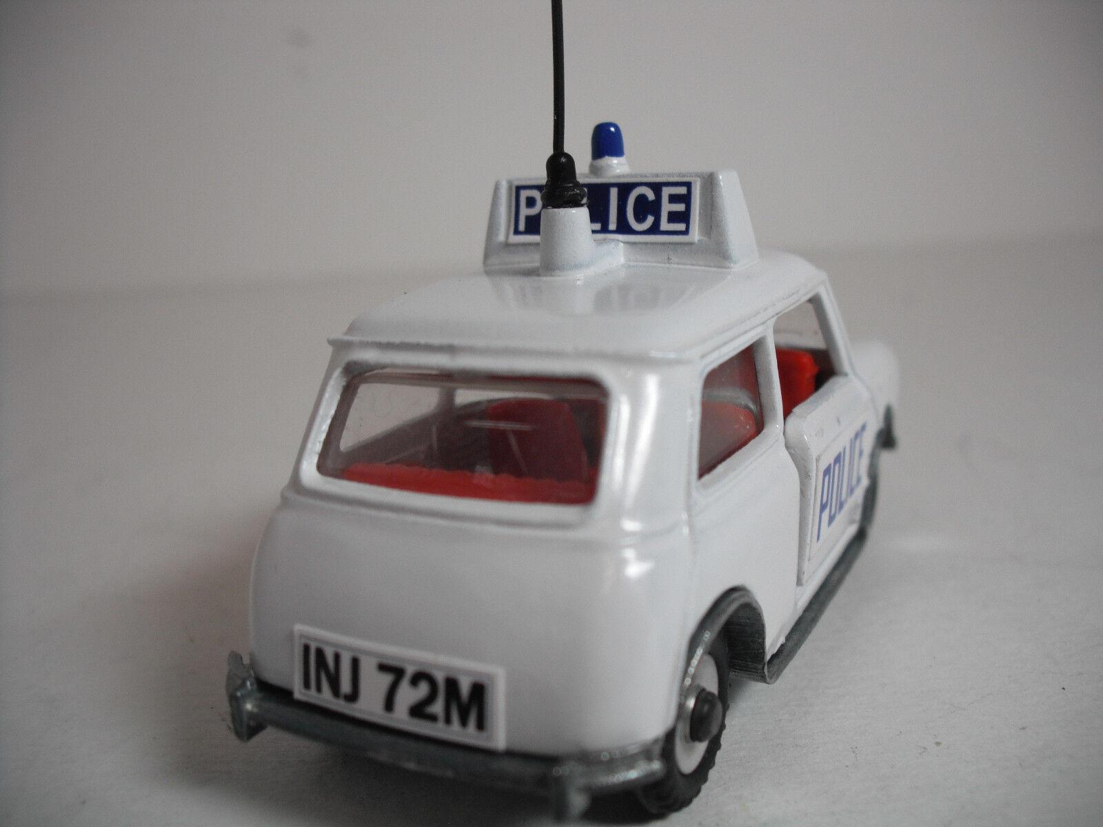 Meccano Ltd. Dinky Toys H MINI COOPER COOPER COOPER POLICE CAR . RESTORED NEAR MINTY f0323d