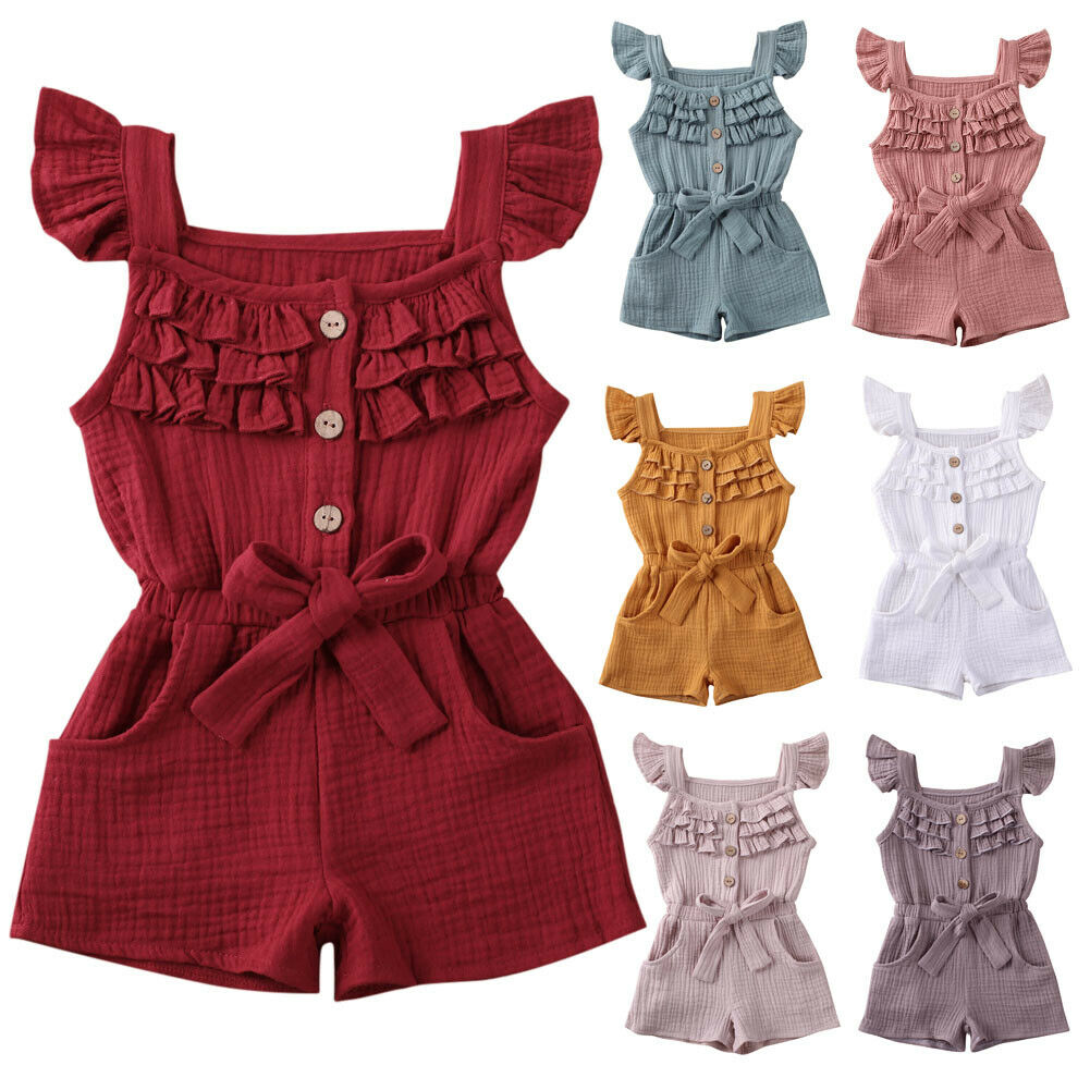 Wexuua Infant Baby Girl Boy Floral Romper Jumpsuit Outfits Newborn Long Sleeve Bodysuit Playsuit Clothes One Piece