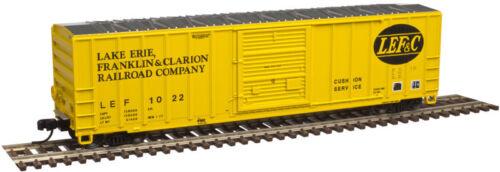 NIB N Atlas #50002425 FMC 5077 SD Boxcar LEF/&C #1022