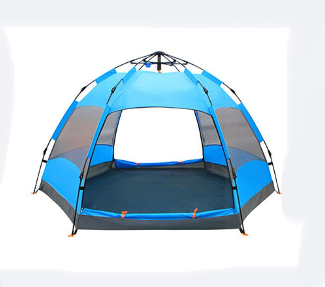 6-9 Persons POP UP Double Lining Waterproof Outdoor Beach Camping Hiking Tent