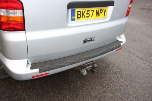 VW T5 REAR BUMPER PROTECTOR NON SLIP SAFETY TREAD STRIP OVER THE EDGE.