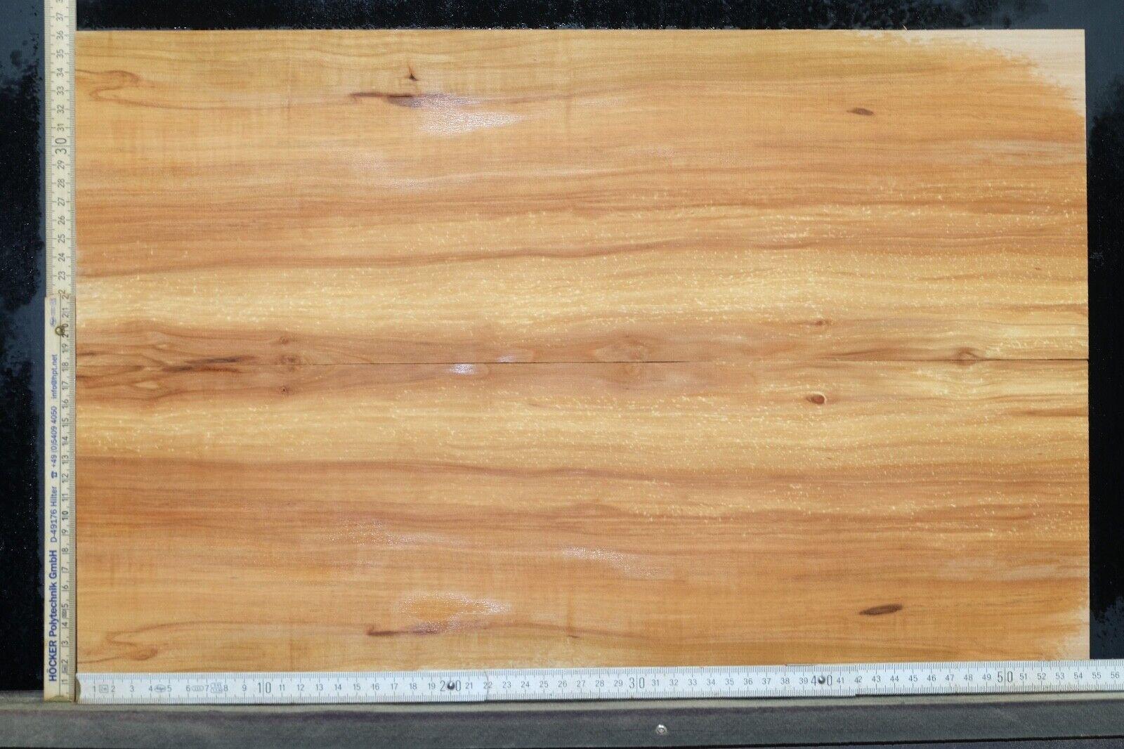 Tonewood Apple 9,8 mm Cap Strips Figured Topset Guitar Luthier Droptop 24