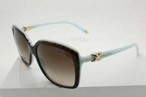 5110bfb8d6 Tiffany   Co. TF 4076 8134 3B Tortoise Square Gradient Brown Lenses ...