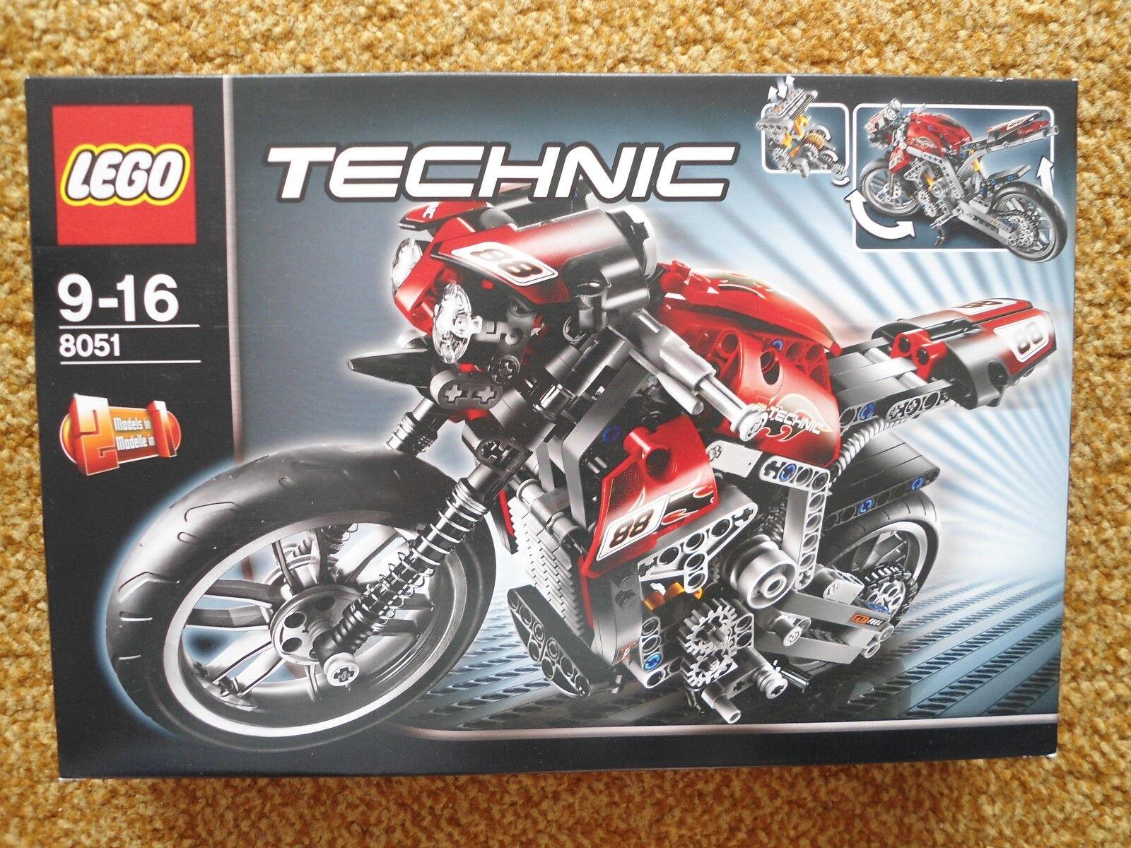 LEGO Technic Motorrad 8051 Neu und OVP