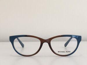 16-Michael-Kors-MK-8003-3007-Courmayeur-Cat-Eye-Blue-Silver-Eyeglasses-51-17-135