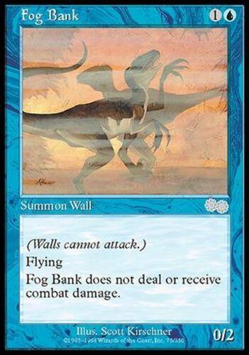 ▼▲▼ Fog Bank Banc de brouillard Urza/'s Saga #75 ENGLISH Magic