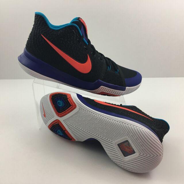 finest selection 1c6d0 379da Nike Kyrie 3 Kyrache Size 11 Mens Shoes Black Orange Noir 852395 007