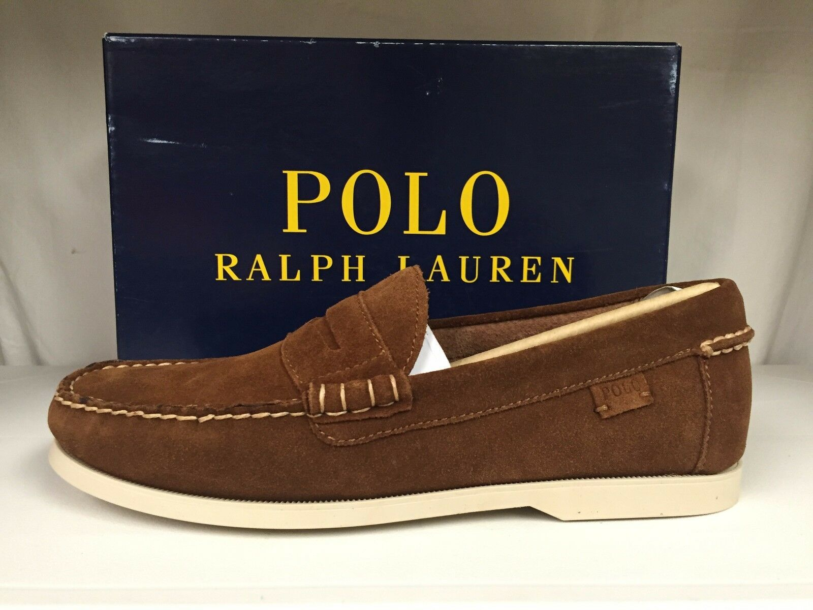 Polo Ralph Lauren Bjorn Men's Penny Loafers Driver shoes Slip Ons Moccasins