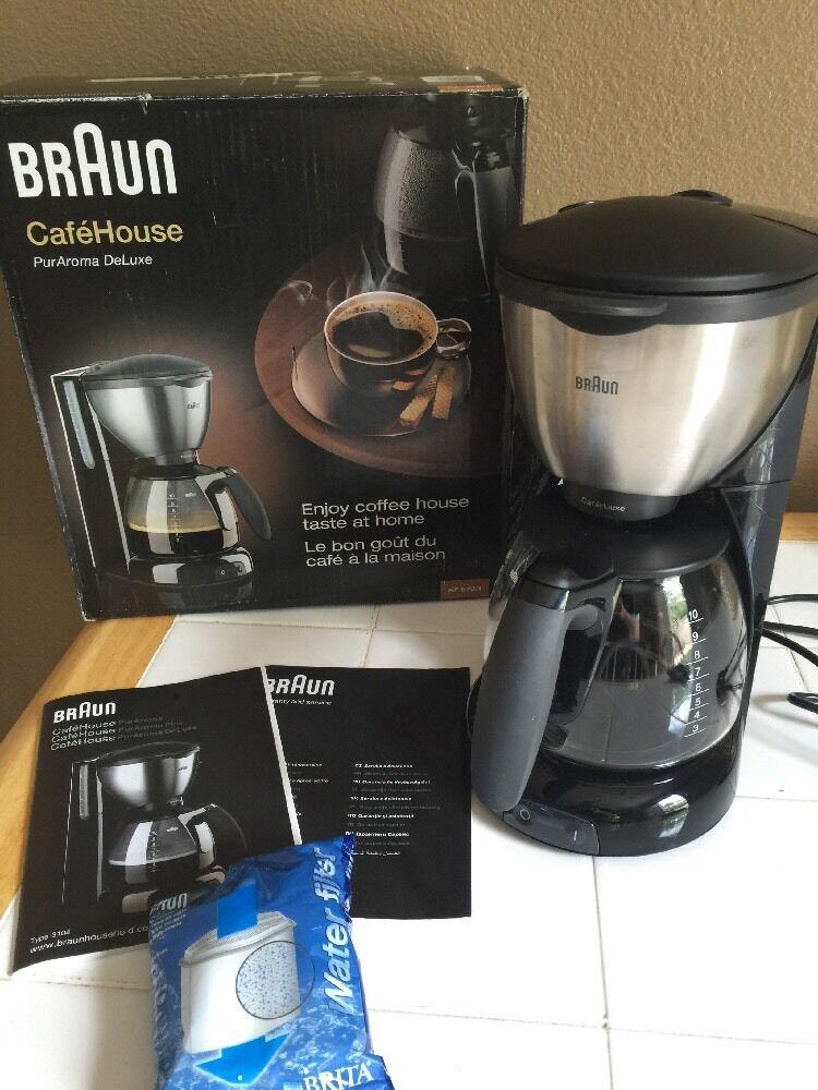 marron KF570 10-Cup Coffee Maker, 220-240 V NON-USA conforme