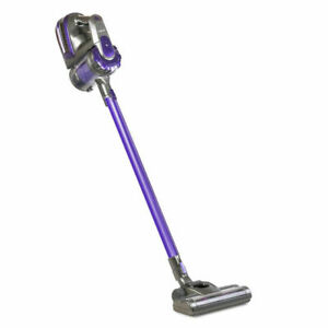 Devanti 2 Speed 150W Cordless Handheld Stick Vacuum Cleaner - Purple and Grey