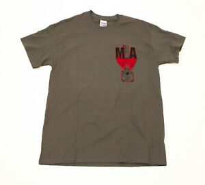 EUC-Springfield-Armory-M1A-Mens-Army-Green-Tee-Shirt-US-Medium