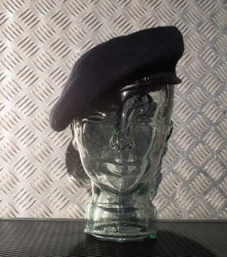 NEW Medium Navy Blue Military Style Wool Beret //Berret Size 7¼