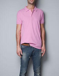 Pique Zara Polo Neuf Pour Homme T Shirt BxoeCQWrd