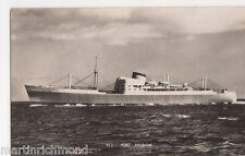 M.V. Port Brisbane, Shipping RP Postcard, B512