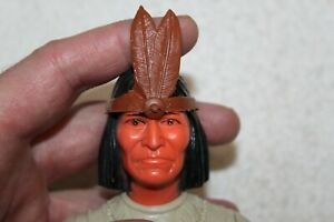 """tomahawk Johnny West Marx Best of the West Chief Cherokee Geronimo 1//6 12/"""""""