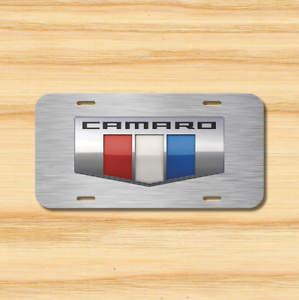 Chevy License Plate Vehicle Auto Vehicle Tag Chevrolet Camaro Z28 IROC SS RS NEW