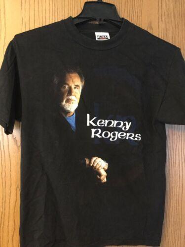 Kenny Rogers  Black Shirt    M.