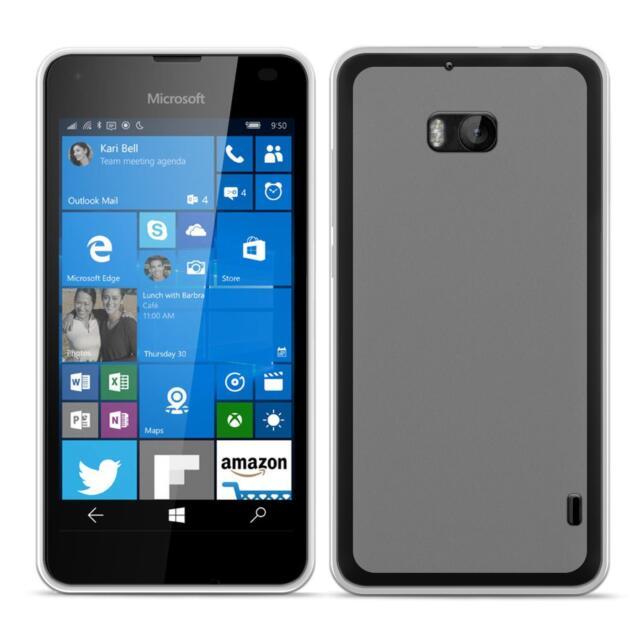 Dünn Slim Cover Microsoft Lumia 930 Handy Hülle Silikon Case Schutz Tasche