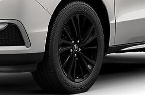 NEW-Genuine-Acura-2017-MDX-20-034-10-Spoke-Berlina-Black-Wheels-Set-of ...