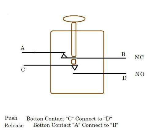 New Dual NC//NO Position Mil-Spec Momentary Push Switch NSN 5930-00-141-0516