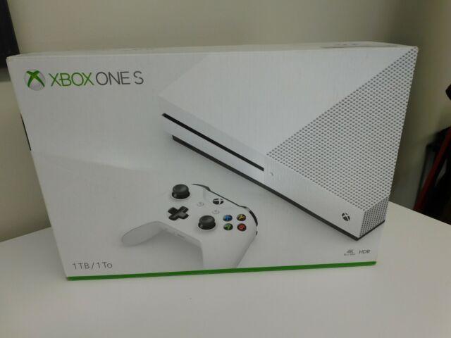 Xbox One S 1TB Model #1681 4k Blu-Ray HDR OPEN BOX
