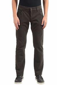 Dolce-amp-Gabbana-Men-039-s-Brown-Pantalon-Loisirs-US-32-it-48