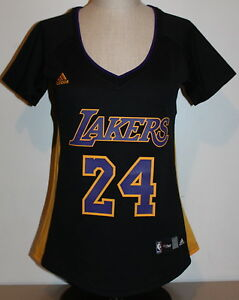 4e882661407 Los Angeles Lakers Kobe Bryant #24 Hollywood Nights Adidas Women's ...