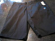 NWT - Mens VOLCOM Black Flat Front Shorts (Size 34)