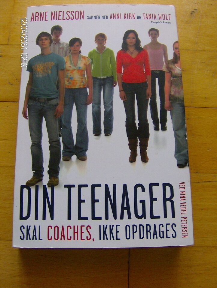Din teenager skal coaches, ikke opdrages , Arne Nielsson