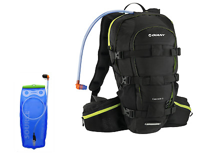 Giant Hydration Backpack Pack Water Bladder Bag Cycling Sport Hiking Running 15L