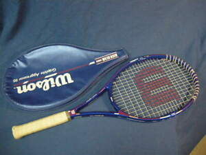 WILSON-AGGRESSOR-95-HIGH-BEAM-SERIES-4-1-2-L4-TENNIS-RACQUET-RACKET