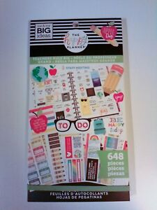 The Happy Planner Teachers Rule Big 648 Stickers