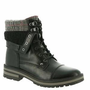 Tommy-Hilfiger-Womens-Faux-Fur-Faux-Fur-Almond-Toe-Ankle-Fashion-Boots