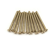 12 Genuine Gretsch Slotted Nickel Filtertron Pickup Mount Screws 0063046049