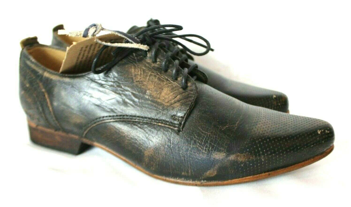 NEW Bed Stu Cobbler Series Mens Distressed Oxfords shoes Sz. 8.5 Bench Made