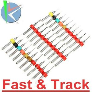 Punte-Frese-10pz-Tungsten-Steel-Hard-Alloy-PCB-CNC-micro-Drill-Bit-Circuit-Board