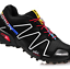 miniatuur 19 - Salomon Speedcross Vario 3 Mens Running Trainers All Sizes Multicolor sneakers