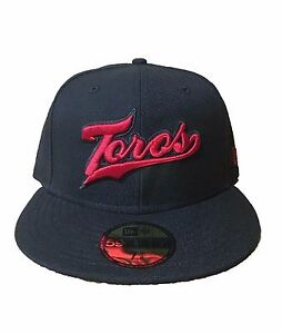 New Era Toros de Tijuana Script 59Fifty Fitted Hat LMB Mexico ... 77cb1b9aabc
