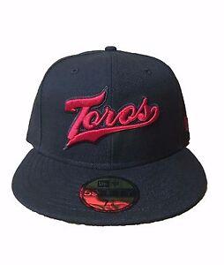 """LMB Mexico Baseball Cap Black New Era 59Fifty Toros de Tijuana /""""TJ/"""" Fitted Hat"""