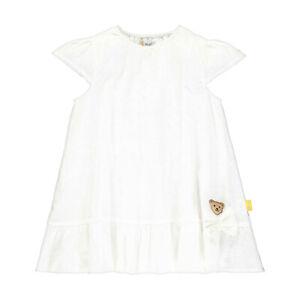 STEIFF® Mädchen festliches Kleid Lochstickerei weiß 80-122 ...