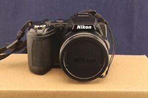 Nikon Coolpix L120 14.1MP Black Digital Camera For Repair or Parts, Not Working
