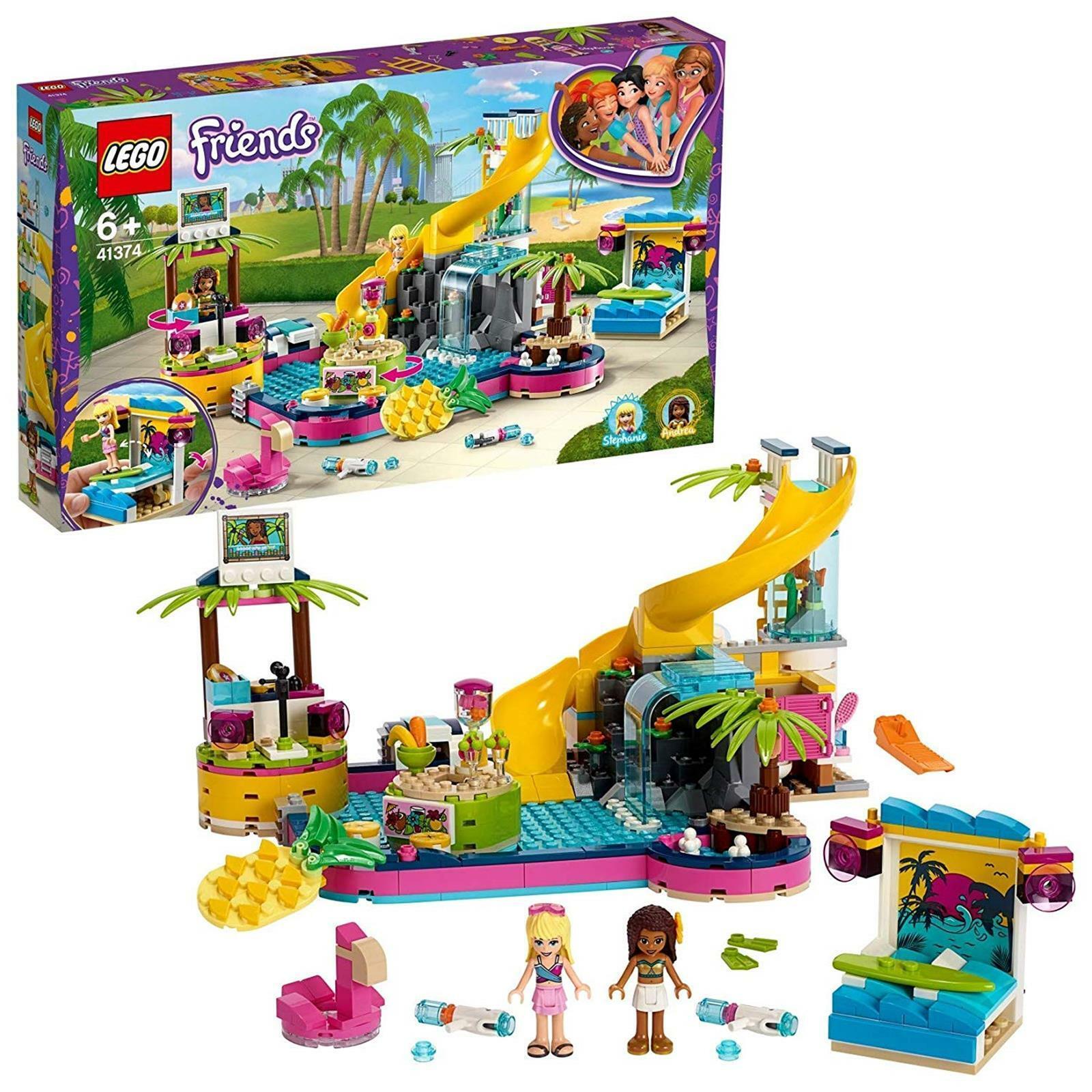grande sconto Lego Lego Lego Friends 41374 La festa in piscina di erea  garanzia di qualità
