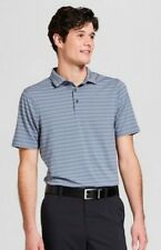 48bfaa70994a9a Mens C9 Champion Activewear Stripe Polo Shirt Blue Heather XXXLT for ...