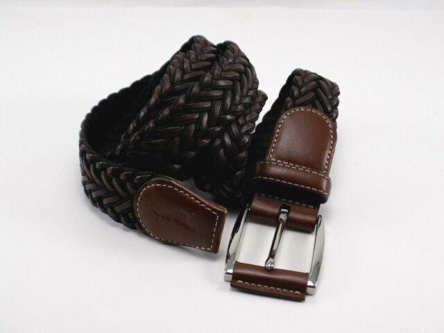 Tommy Bahama Worn Belt Size 42 leather /& canvas