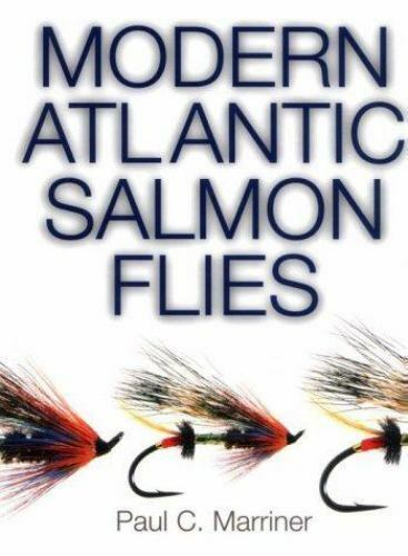 Modern Atlantic Salmon Flies by Paul Marriner (1999, Spiral)