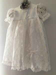 vintage-baby-girls-christening-dress-white-lace-sz-6m
