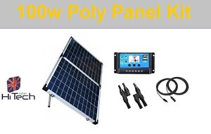 Beautiful-high-efficiency-100W-Folding-Poly-Solar-Panel-Kit-with-controller-20A