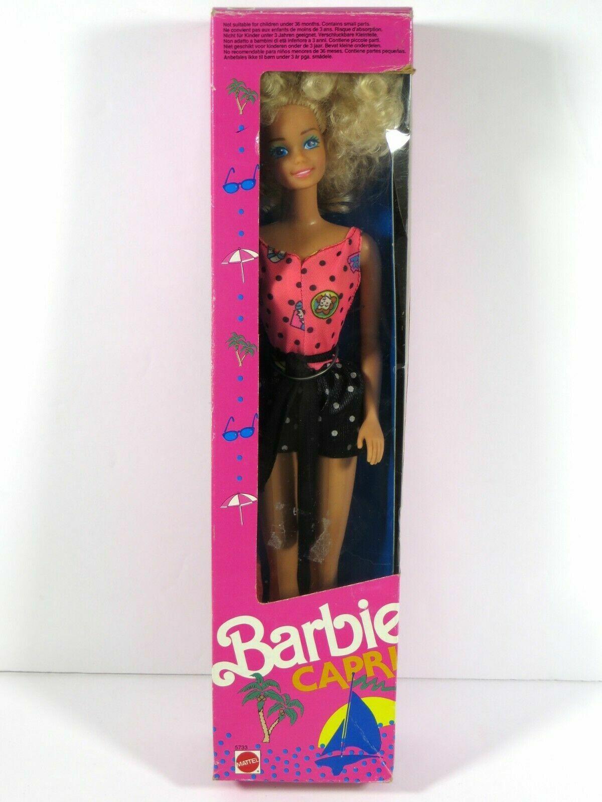 BARBIE ORGINAL 1990 MATTEL BARBIE Capri OVP VINTAGE DA COLLEZIONE COLLEZIONE COLLEZIONE 35c23d